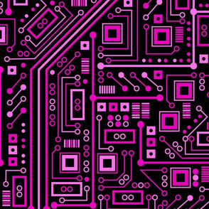 Short Circuits (Magenta Extra Extra Large)