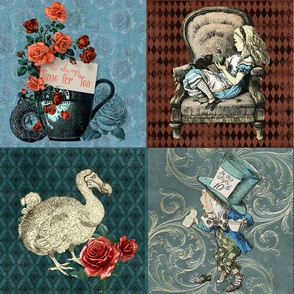 Time for Tea Alice Patchwork