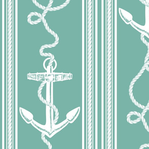 Anchor Rope Sea Green