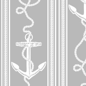 Anchor Rope Neutral Gray