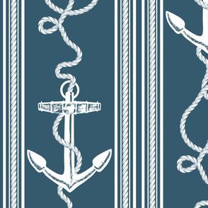 Anchor Rope Dark Blue