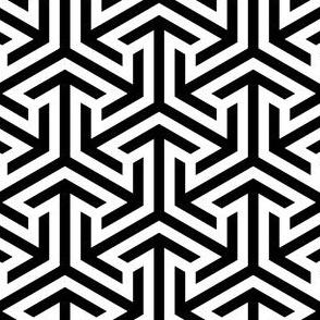00911659 : triarrow : equal outline