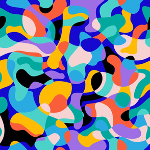 Vibrant Abstraction /Color-Blocking