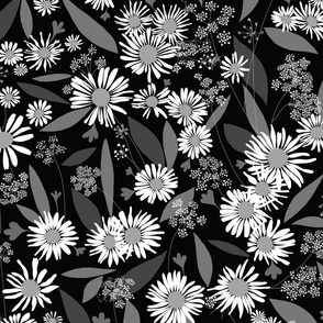 Daisy Delight monotone mix