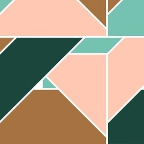 Desert Mountain Color Block