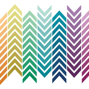 Rainbow Cheater Quilt