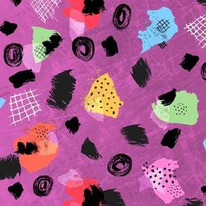 Color Blocks Coordinate (Shapes Pink)