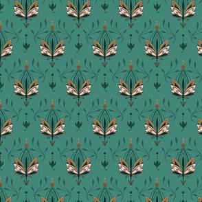 Lotus Flower 1 green