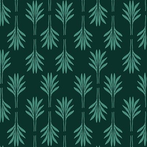 Exotic Leaves green