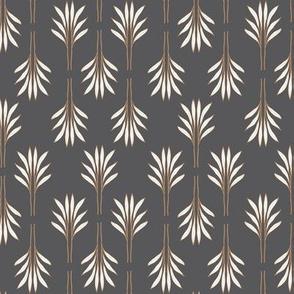Exotic Leaves grey