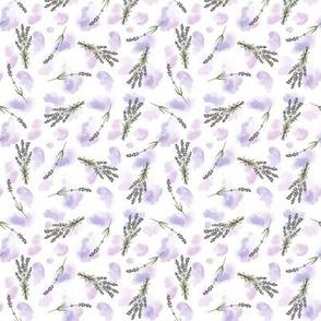 Lavender Watercolour - small scale
