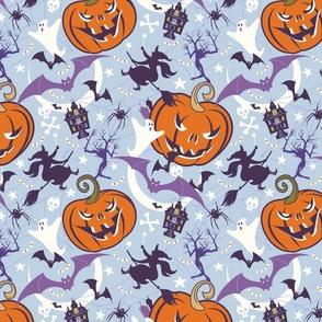Vintage Halloween Violet