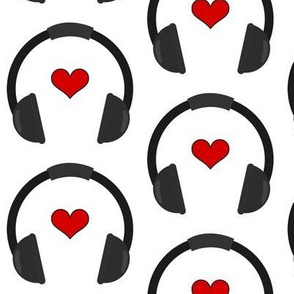 Heart Headphones