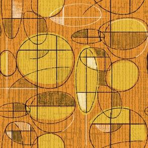 Blimpy Orange and Gold