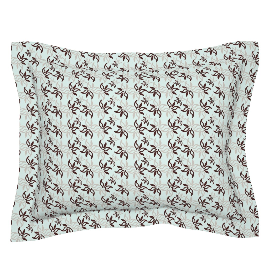 Sebright Pillow Sham featuring Breath In Breath Out 4 Collection by kandyceartstudio