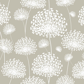neutral retreat (white floral) solid50