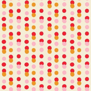 Pollinator Garden Collection-Dots-Red Cream-04-04