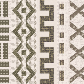 Mudcloth Cheater Quilt