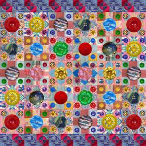Vintage Buttons & Orphan Blocks