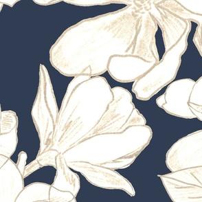 Navy Magnolia Grandiflora