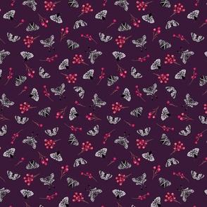 Moths-Magenta