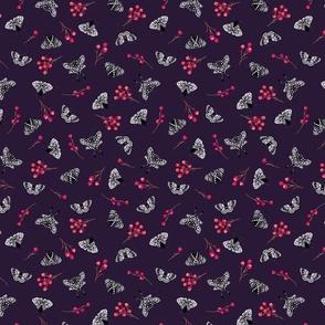 Moths-Purple
