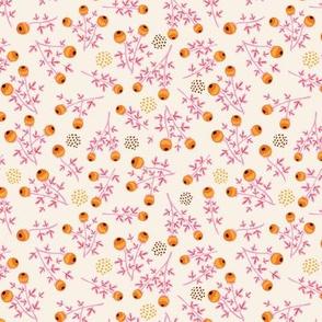 Woodland critters - berries coordinate