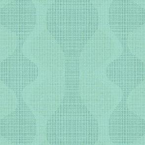 Mint midcentury texture