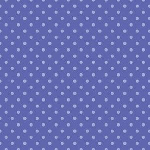 Bold Blue with Periwinkle Dots