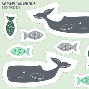 Cut and Sew: Sammy the Whale (Misty)