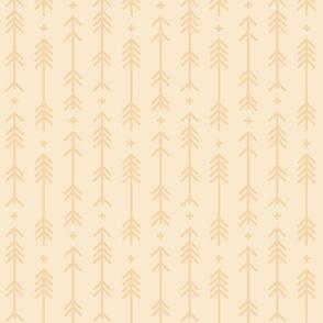 cross + arrows ivory tone on tone