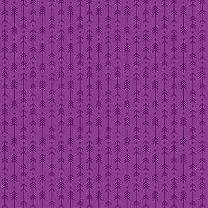 tiny cross + arrows purple grape tone on tone