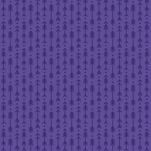 tiny cross + arrows purple tone on tone