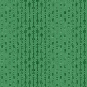 tiny cross + arrows kelly green tone on tone