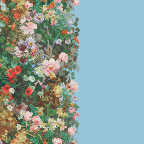 Victorian Garden Border ~ Border Print ~ Dorothea