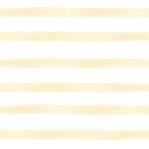 Yellow Watercolor Stripes
