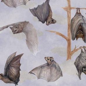 Little Brown Halloween Bats