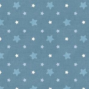 Sleepy Series Blue Stars Mid-tone Large