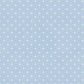 Sleepy Series Blue Dots Light Ditsy