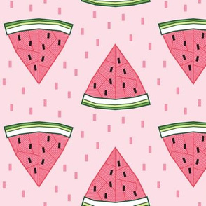 Geometric Watermelon (Pink)