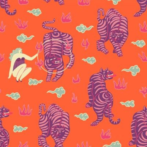 Tigerscircus pattern02