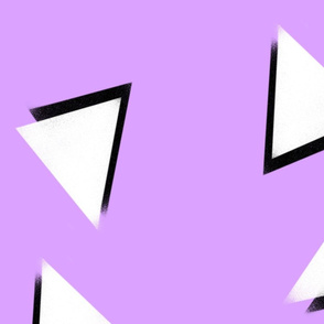 Memphis triangle pattern tile
