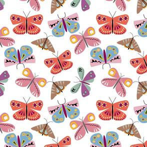 Moths Play