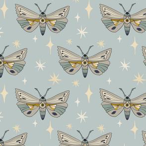 Moths - Blue
