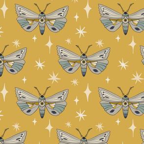 Moths - Gold