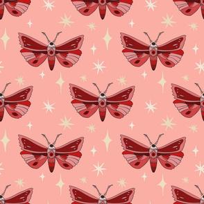 Moths - Pink