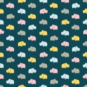 little rhinos by rysunki_malunki