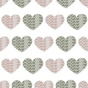 textured hearts by rysunki_malunki