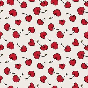 cherries doodle by rysunki_malunki