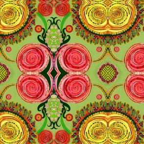 Ranunculi Waltz - Green